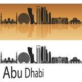 Horizon d'Abu Dhabi V2 Photo libre de droits