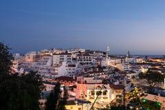 Horizon d'Albufeira, Algarve, Portugal Photographie stock libre de droits