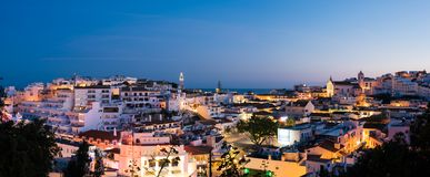Horizon d'Albufeira, Algarve, Portugal Photos stock