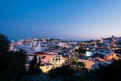 Horizon d'Albufeira, Algarve, Portugal Photo libre de droits