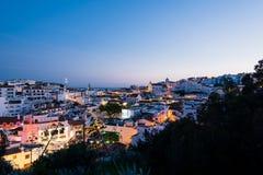 Horizon d'Albufeira, Algarve, Portugal Image libre de droits