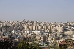 Horizon d'Amman Photographie stock libre de droits