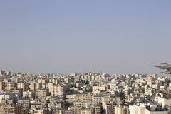 Horizon d'Amman Images stock
