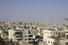 Horizon d'Amman Photo stock