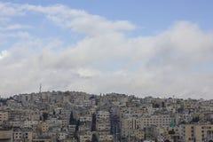 Horizon d'Amman Jordanie Photo stock
