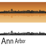 Horizon d'Ann Arbor illustration stock