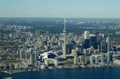 Horizon d'antenne de Toronto photographie stock