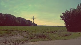 Horizon d'après-midi photos stock