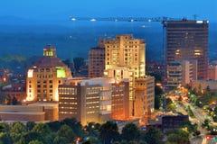 Horizon d'Asheville Photos libres de droits