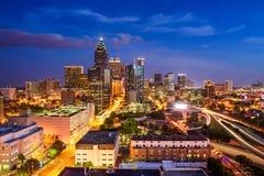 Horizon d'Atlanta, la Géorgie photos libres de droits