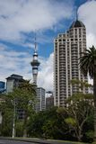 Horizon d'Auckland - 1 Photo libre de droits