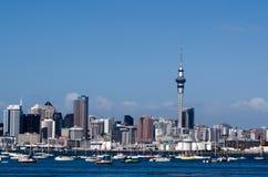 Horizon d'Auckland Images libres de droits