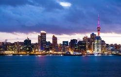 Horizon d'Auckland Photo stock