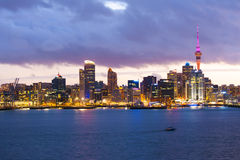 Horizon d'Auckland Image libre de droits
