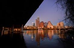 Horizon d'Austin le Texas photographie stock libre de droits