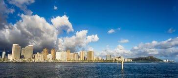 Horizon d'Hawaï photographie stock libre de droits