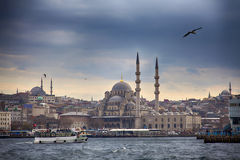 Horizon d'Istanbul image stock