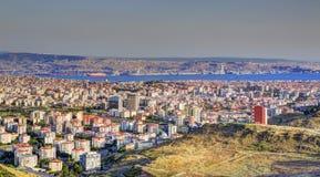 Horizon d'Izmir Photos libres de droits