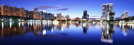 Horizon d'Orlando Images libres de droits