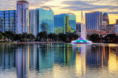 Horizon d'Orlando Image stock