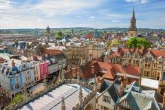 Horizon d'Oxford. Angleterre image stock