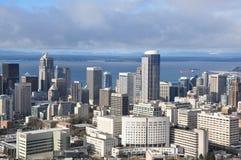 Horizon d'une ville Photographie stock libre de droits