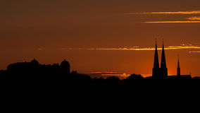 Horizon d'Upsal Image libre de droits