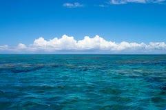Horizon dans le Pacifique Photo libre de droits