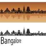 Horizon de Bangalore illustration stock