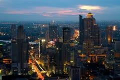 Horizon de Bangkok Photos stock