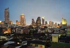 Horizon de Bangkok Photographie stock