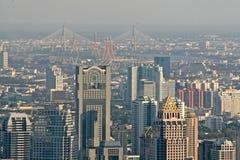 Horizon de Bangkok Photographie stock libre de droits