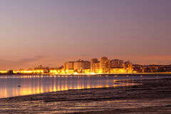 Horizon de Barreiro. Photographie stock
