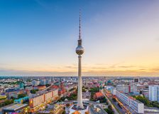 Horizon de Berlin, Allemagne photographie stock