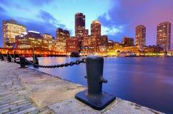 Horizon de Boston Photo stock