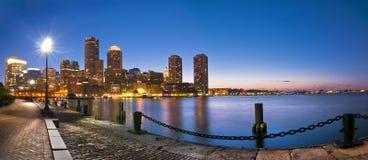 Horizon de Boston Photographie stock libre de droits