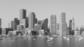 Horizon de Boston Image libre de droits