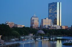 Horizon de Boston Image stock