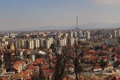 Horizon de Brasov Photo libre de droits