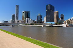 Horizon de Brisbane Images libres de droits