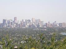 Horizon de Calgary images libres de droits