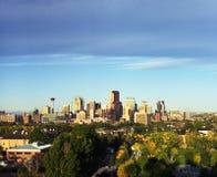 Horizon de Calgary Image libre de droits