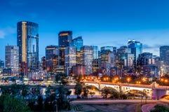 Horizon de Calgary Image stock