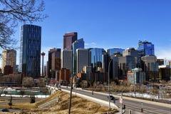 Horizon de Calgary Photo libre de droits