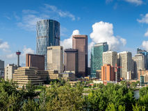 Horizon de Calgary Images stock