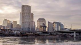 Horizon de Calgary banque de vidéos