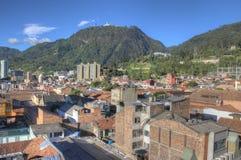 Horizon de Candelária regardant vers Monserrate Photographie stock libre de droits