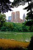Horizon de Central Park Photo stock