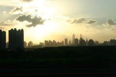 Horizon de Changhaï Image stock