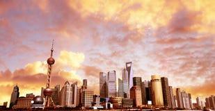 Horizon de Changhaï. image stock